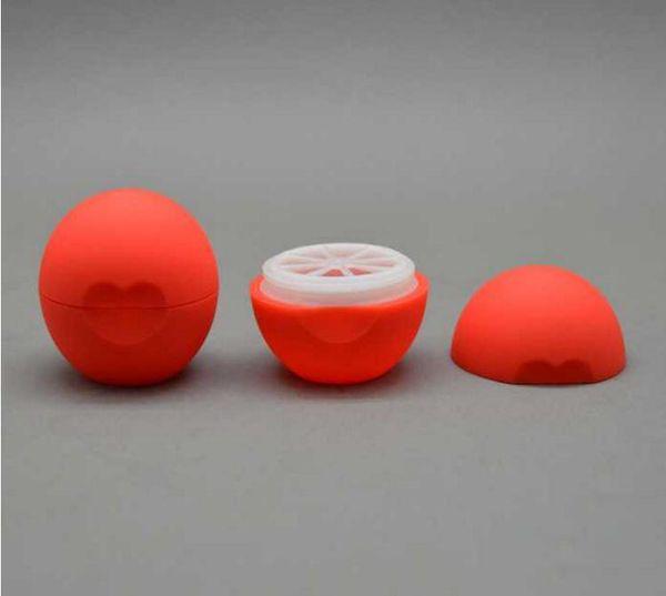 Em branco Cosméticos Bola Recipiente 7g Lip Balm Jar Eye Gloss Creme Amostra Caso Frete Grátis