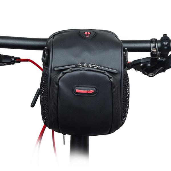 Bicycle/Electric Handlebar Bag Folding Front Phone Pannier Moutain/Road Bike Rainproof Stroage Multifunction Cycling Bags