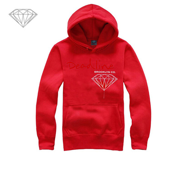 Diamond Supply hoodie for men free shipping diamonds hoodies hip hop brand new 2018 sweatshirt men's clothes pullover M9