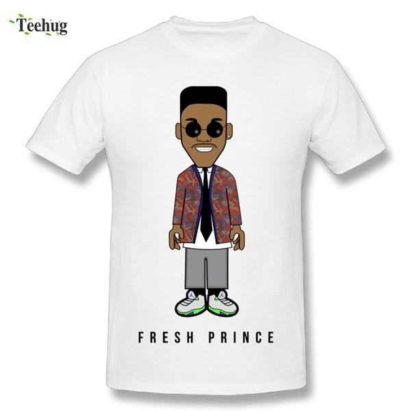 Custom Male The Fresh Prince Of Bel Air T Shirt Classic Movie T Shirts