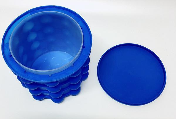 14 * 12 cm ghiaccio ice Genie The Revolutionary Risparmio Spazio Ice Cube Maker Ice Genie Utensili Da Cucina 34 PZ / LOTTO
