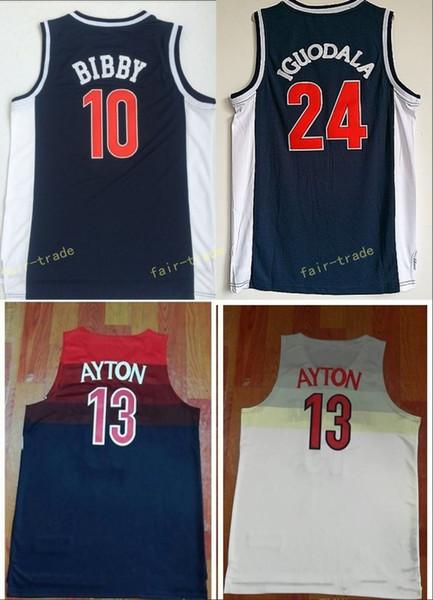 Ncaa Arizona Wildcats 13 DeAndre Ayton College Basketball Jerseys ...