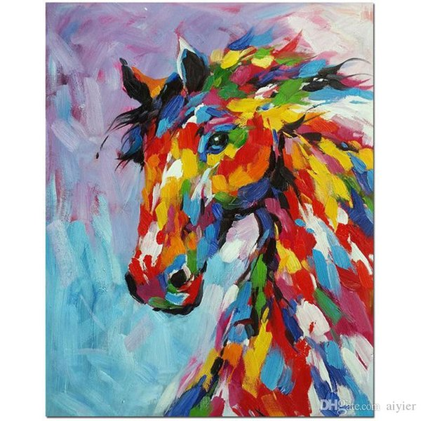 5D DIY diamond painting full embroidery mosaic color drawing horse art fashion crafts gift mural wedding party home decoration