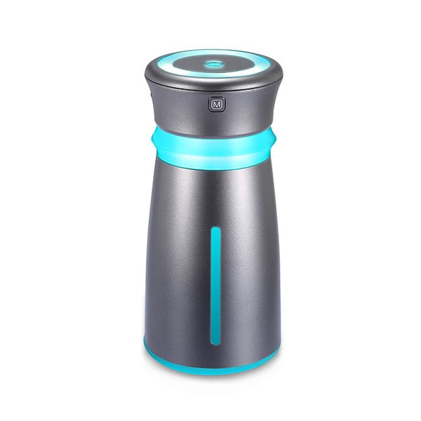 New Product Colorful Humidifier More Function Small Fans Atomization Humidifier Mini- Usb Vehicle Atmosphere Humidifier