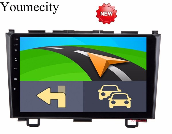 Android 8.1 9 pulgadas Octa Core Car DVD DVD para Honda CRV 2006-2011 Pantalla capacitiva 1024 * 600 + wifi + 2G RAM + 4G
