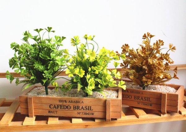 Simulation greens evergreen grass creative DIY supplies plant wall products, wedding flower simulation flower L734