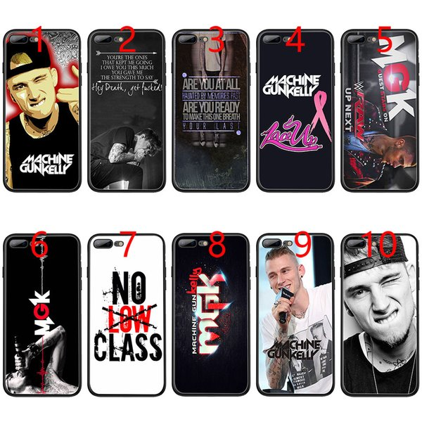 Mgk Machine Gun Kelly Lace Up Soft Black TPU Phone Case for iPhone XS Max XR 6 6s 7 8 Plus 5 5s SE Cover