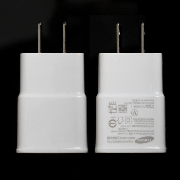 Single port 5V 2A USB Interface Travel EU US Plug USB Original Wall Charger Adapter For Samsung for iphoneXS/X/8/7/6 cellphone