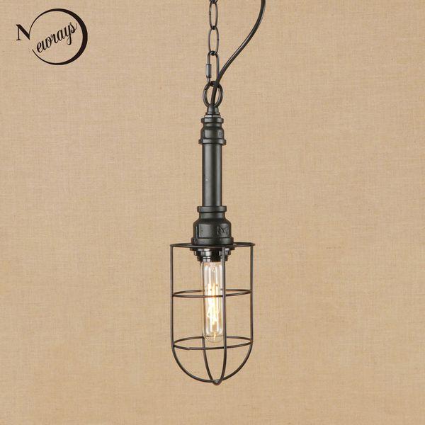 Vintage iron painted hang lamp LED Pendant Light Fixture E27 220V For Kitchen office bed room study room restaurant bar