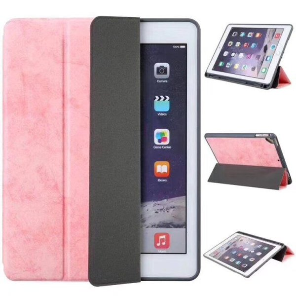 Smart Case Cover PU Leather Hard Back Magnetic Cover with Sleep Wake For ipad air 2 3 4 Pro 9.7 10.5