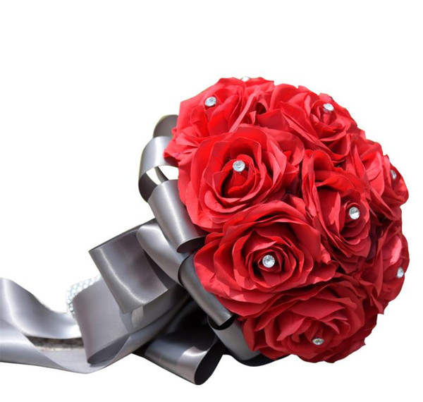 Eternal angel, wedding products, foreign trade, roses, red flowers.