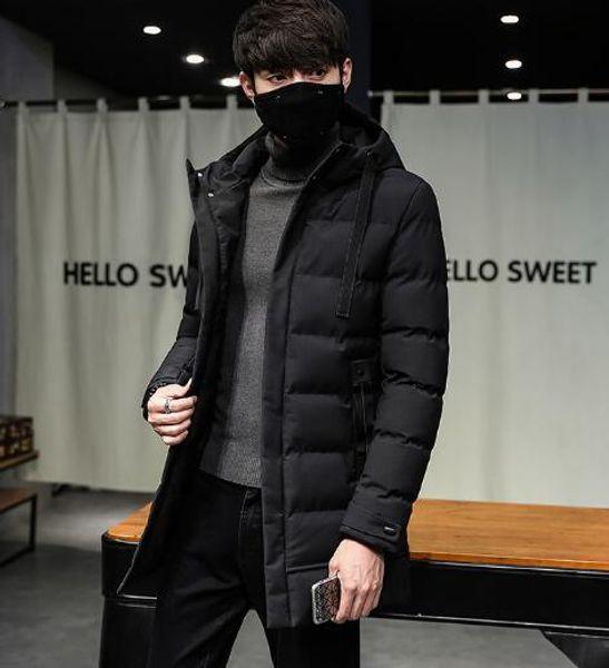 Winter Mantel Herren Oberbekleidung Jugendjacke Mittellanger Auf Y2018whyc83 Aus 25 Großhandel Mit Kapuze New Baumwolle Von Slim Parkas vY6g7bfy