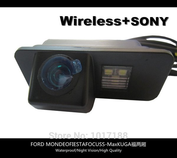 HD!! WIFI camera Wireless Car Rear View Camera SONY Chip For FORD MONDEO FIESTA FOCUS S-Max KUGA