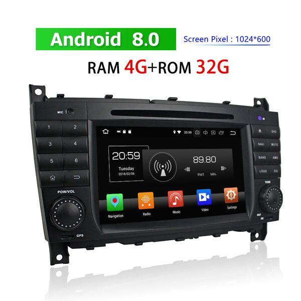 2 Din Android Car Radio per Mercedes-Benz C CLC G-Class W203 W467 2004 ~ 2011 Car DVD Player Navigazione GPS 3G 4G Car Stereo Bluetooth