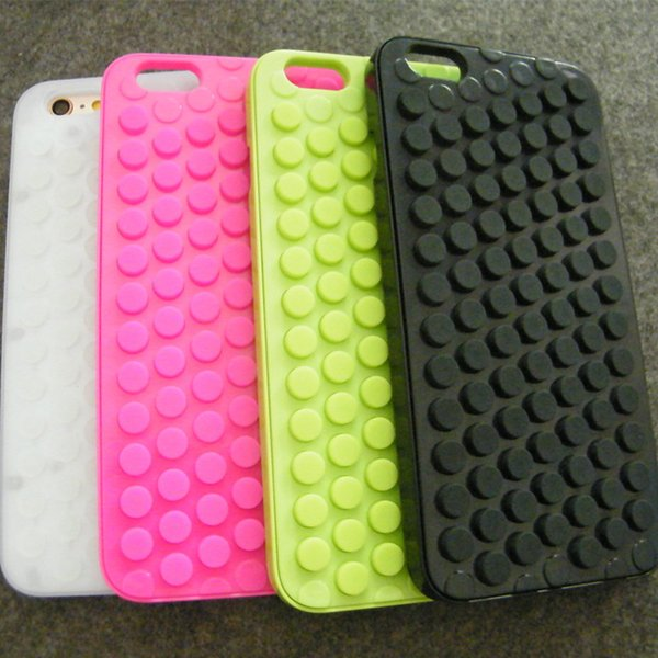 Phone Shell Boutique Popular Products Decompression Bubble Press Mobile Shell Solid Color Silicone Plastic For iPhoneX876 Phone case 123