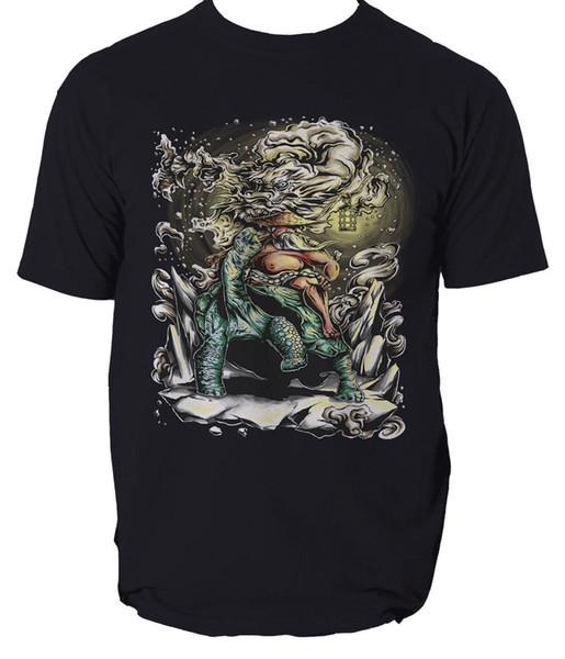 The Wise Old Man t shirt Dragon Comics martial art mens t-shirt tee S-3XL New Arrival Male Tees Casual Boy T-Shirt Tops Discounts