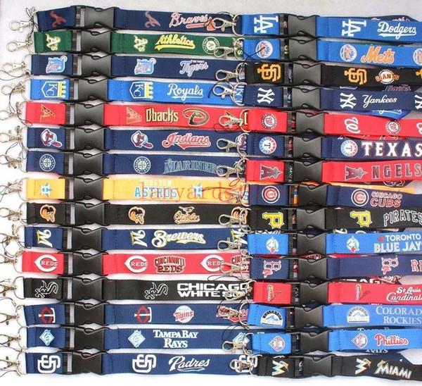 30 дизайн футбол шеи талреп ключи цепочки для бейджей мобильный телефон шейные платки 100шт бесплатно DHL