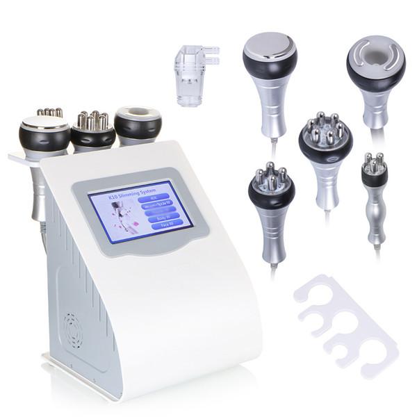 top popular Pro 40K Cavitation Ultrasonic Cellulite Removal RF Skin Lifting Radio Frequency Multipolar Vacuum Body Slimming Machine 2020