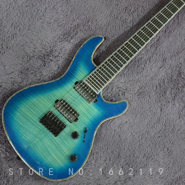 Factory Custom mayones Electric guitar 7 strings guitars with ebony fingerboard Neck through body Mahogany body musical instruments shop