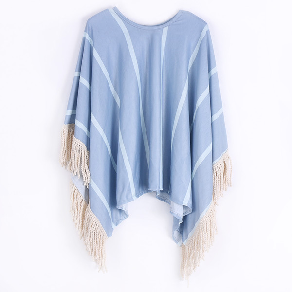 Children Sweaters !!Tassel Cardigan Kid Girls Bohemain Sweater Outwear Poncho Tops Size 2-8T