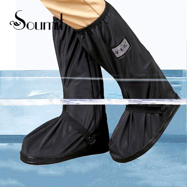 Waterproof Rain Shoe Cover for Motorcycle Cycling Bike Men Women Reusable Boot Overshoes Boots Shoes Protector Covers