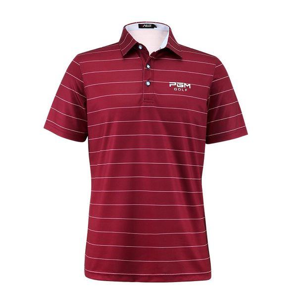 top popular Men's Golf Match Shirt Quick-drying Breathable Sports Shirt 2019