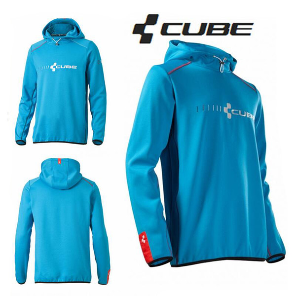 Cube Teamline Cycling Mountain Bike Riding Coat MTB BMX Downhill MX Motorcross Hoodies Bicycle Bermudas Free Shipping