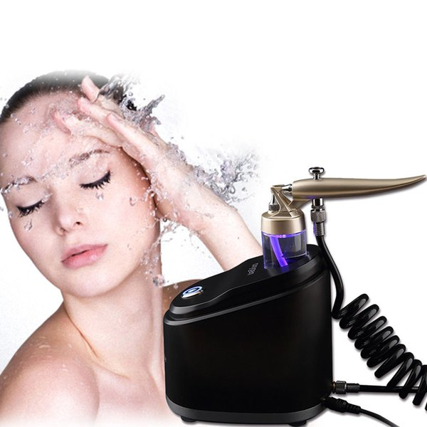 Pure oxygen water pray jet facial ma age kin rejuvenation care peel machine whitening lighten wrinkle removal cleaning