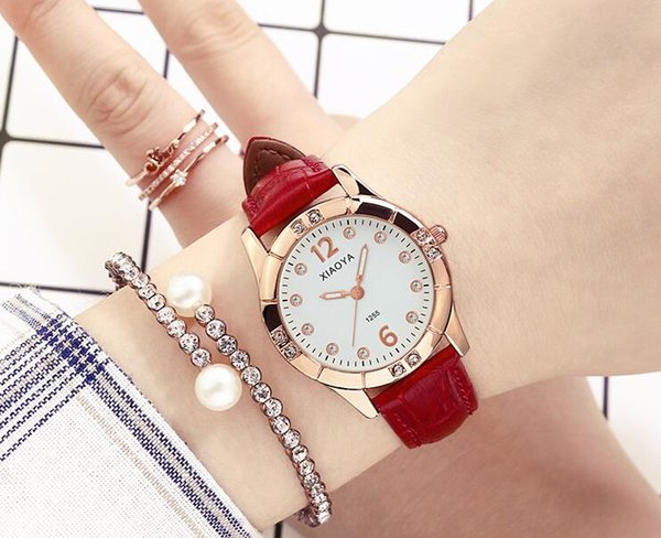 2017 Classic model Fashion top brand women wristwatch luxury female watch diamond watches Fashion high quality free drop shipping clock