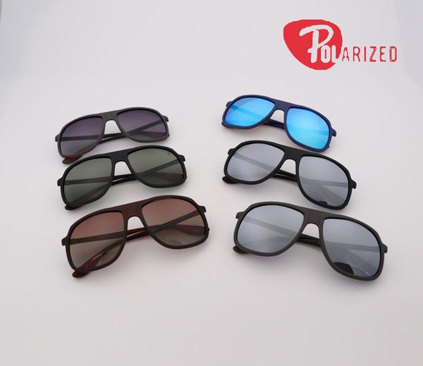 Newest 2018 top quality pilot Sunglasses Women Brand Designer polarized Lenses Sun Glasses Female gradient flash 4308 cool retro Eye Glasses