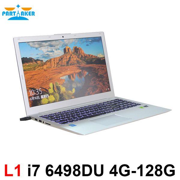 15.6 Laptop i7 6498DU GT940M 2G Discrete Graphics Partaker L1