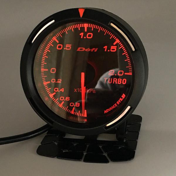 best selling 13 Backlight Color In 1 60mm Racing DEFI BF Link Auto Gauge Boost Guage Turbo Sensor Gauges Auto Meter