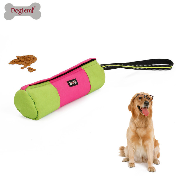 Dog Dummy Training Toy Durable Pet Snack Dummy Pouch Activity Play Toys
