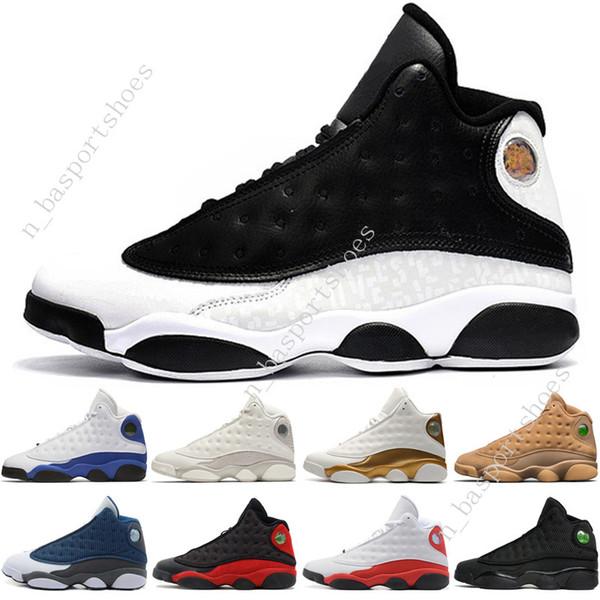 Gezüchtet Basketball Höhe Hyper Mens Großhandel Sport Schwarze Turnschuhe GS 13 Royal Schuhe Frauen 13s Katze Grüne Flints Phantom Männer Chicago tBsrChdQx