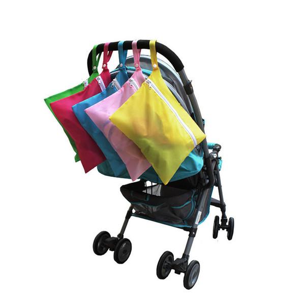 Neue Wasserdichte Kinderwagen Kinderwagen Windel Baby Out Windel Taschen Kleidung Windel Lagerung Hang Bag Pouch
