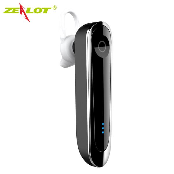 ZEALOT E6 Wireless Headset Car Kit mit Dock Stereo Bluetooth Kopfhörer Mikrofon MP3 Hände Frei fone de ouvido Auricular