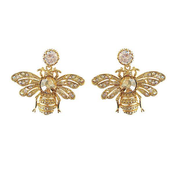 1 Paire Belle Fille Alliage Fleur Abeille Clous D/'Oreilles Pour Femmes Ear Stud Bijoux Cadeau