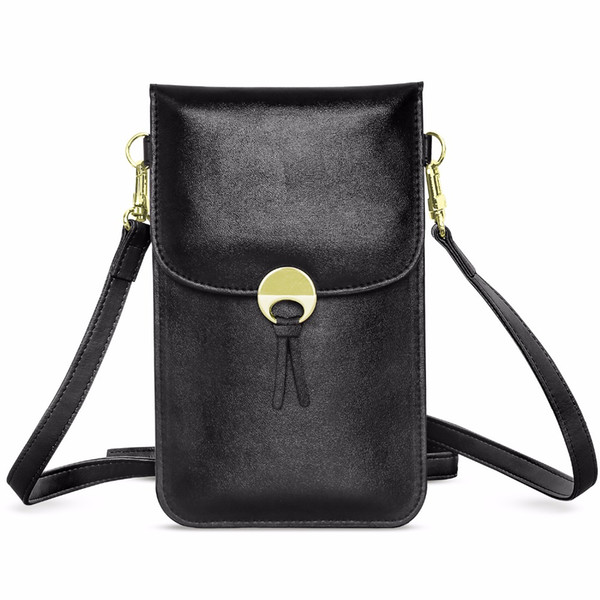 Cell Phone Bag, MoKo Universal Multi-pocket Crossbody Pouch with Shoulder Strap for iPhone X / 8 Plus / 8 7 Plus 6s 6 5s