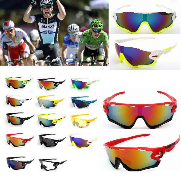 Motocycle Óculos de Ciclismo óculos de sol À Prova de Vento à prova de poeira esporte Óculos multicolor homens mulheres moda óculos 14 CORES FFA108 120 PCS