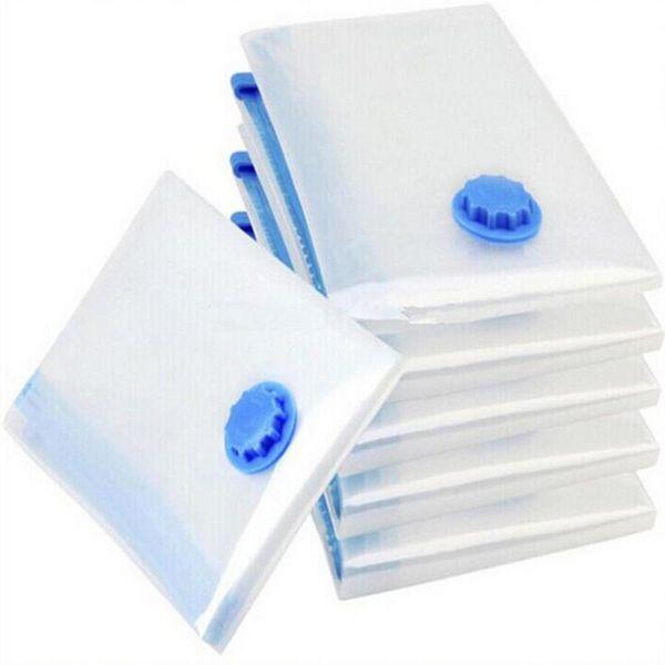 Saco De Poupança De Espaço De Vácuo Organizador Comprimido Roupas Quilt Air Seal Seal Bag para Organizar Wardrobe Armário