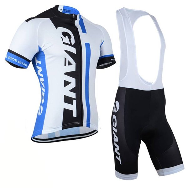 2017 Pro Team Giant ciclismo Jersey Verano Ropa Ciclismo Sport MTB Bike Maillot desgaste de la bicicleta BIB Shorts 3D GEL PAD Ropa de ciclismo 82305J