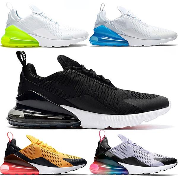 270 Running Shoes For Men Women 270s Betrue Hot Punch Oreo Triple Black White Teal Top Designer Trainer Sport Sneakers Size 5.5-11