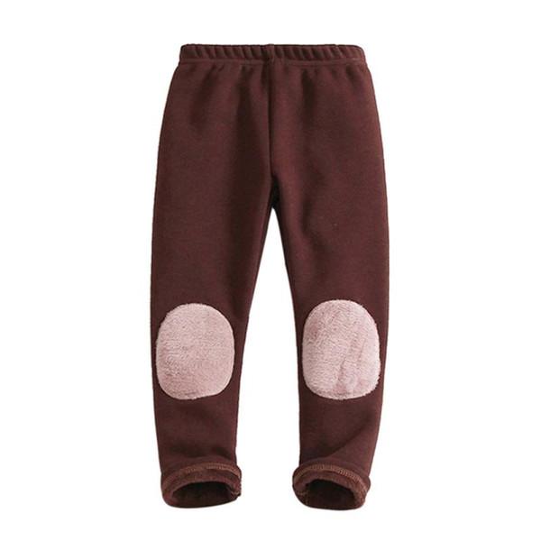 Mode Dicke warme Kid Baby Mädchen Jungen Baumwolle Stretch Leggings Hosen Elasitc Komfortable Winter Warm Gefüttert Lange Hosen Hosen