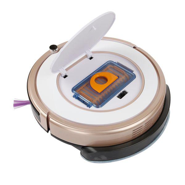 Aspirapolvere robot senza sacchetto Iseelife Smart Robot per casa 2 In1 Pro1s Mop secco umido Pulizia automatica della pulizia Robot aspirapolvere Robot Aspirador