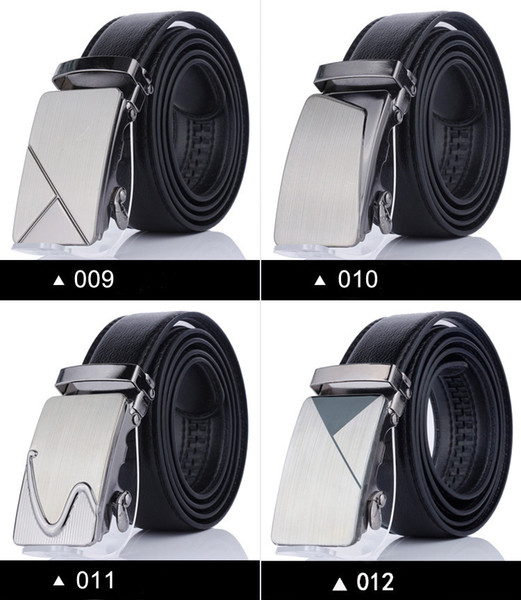 Mens Business Belts Designer Leather Strap Male Automatic Buckle Belts For Men Top Quality Girdle Belts For Jeans