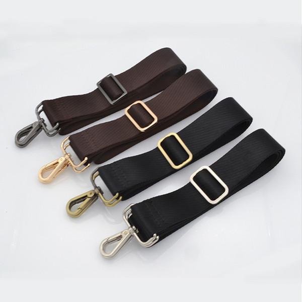 Nouvelle arrivée limitée sangle homme de ruban sac diagonale ceinture sangle sac à dos épaule avec accessoires 3.8 cm