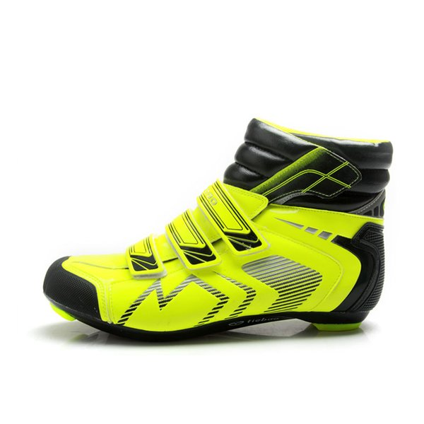 TIEBAO R1686 High Cut Road Bike Shoes Windproof Upper Outdoor Bicycle Shoes Fall Road Cycling