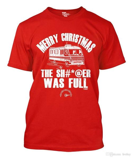 Qualität Shirts New Style Merry Die Shitter War Volle T-shirt Crew Neck Regelmäßige Kurze T-shirt Für Männer