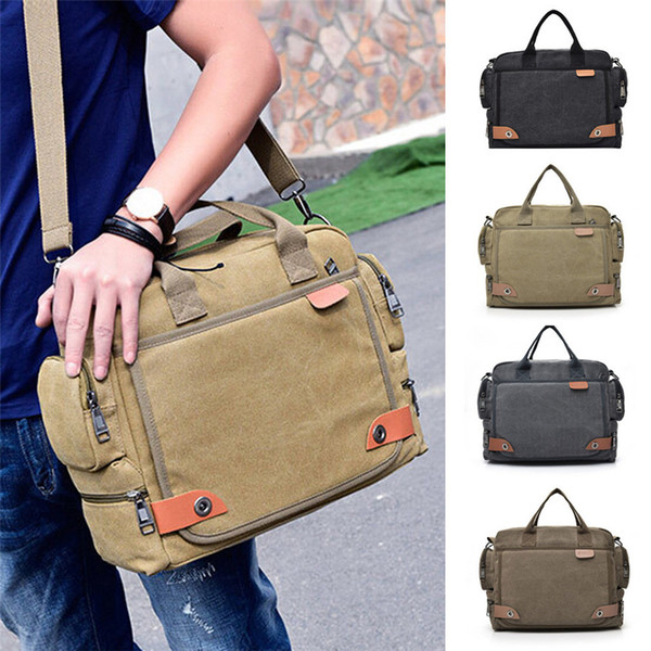 Men Canvas Messenger Shoulder Bag sac a main Crossbody Sling briefcase Bags Satchel crossbody bags for men 2017 luxury