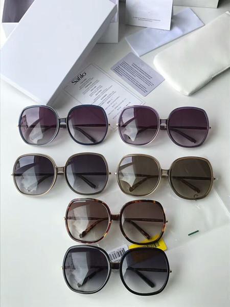 New Fashion Designer Sunglasses CE725S model full frame uv400 Super light Plank with gem high quality with original box